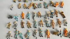 25 Bauarbeiter Arbeiter MIX Figuren HO SPUR 1:87  SUPER PREISE!! Konvolut.