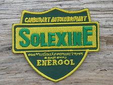ECUSSON PATCH THERMOCOLLANT aufnaher toppa SOLEXINE velosolex solex mobylette