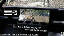 Ezgo txt Golf Cart 1 pc full Diamond Plate Dash Cover