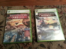 (VERY MINT!) BATTLESTATIONS PACIFIC $ MIDWAY ON XBOX 360
