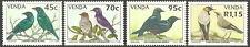 Venda - Stare postfrisch 1994 Mi. 274-277