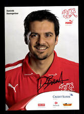 Dominik Baumgartner Autogrammkarte Schweizer Nationalmannschaft 2013+A 144698 D