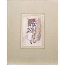 Joseph Clayton Clarke Kyd Coavinses Bleak House Dickens Illustration Painting