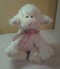 """Russ Berrie 2005 Baby Faith Baby Lamb Sheep Plush 12"""" stuffed animal NWOT"""