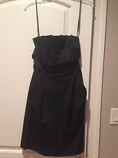 Laila Azhar Strapless Black Dress Size 2