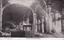 CPA GUERRE 14-18 WW1 BELGIQUE BELGIUM YPRES intérieur des halles