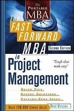 The Fast Forward MBA in Project Management, Second Edition, Verzuh, Eric, Good B
