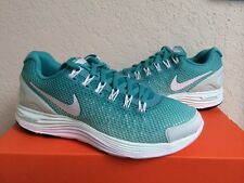 Womens WMNS Nike Lunarglide 4 + Breathe SZ 9.5 Sport Turquoise White 579999-313