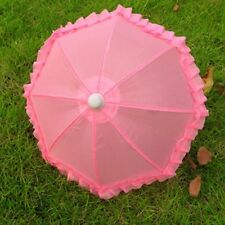Doll Clothes American Fashion Pink Umbrella for 18 inch Girl Doll N337