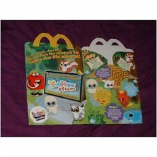 MCDONALDS Happy Meal SCATOLA VUOTA Yoo Hoo (usati) UK