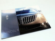 2011 Lincoln MKX MKZ MKT MKS Navigator Brochure