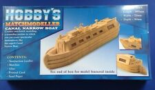 Hobby's MM26 Matchmodeller Canal Narrow Boat Matchstick Model Kit FREE T48 Post