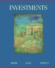 Investments by Zvi Bodie, Alex Kane and Alan J. Marcus (1995, Hardcover)
