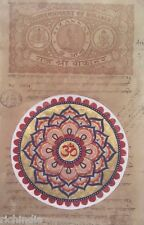 Vedic Artwork Om Yoga Kundalini Meditation Mandala Miniature Painting INDIA Art