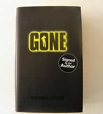 GONE by MICHAEL GRANT ~ SIGNED 1ST EDITION ~ HARDBACK ~ EXC