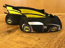 Batman Toddler Boys' Batmobile Slipper Size M 7-8 NEW with Tags