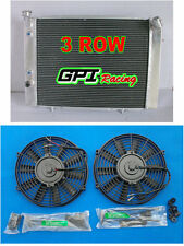 3ROW Aluminum Radiator + fan for HOLDEN COMMODORE VB VC VH VK V8 1979-1986 Auto