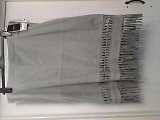 womens new next suede skirt size 18 sage colour