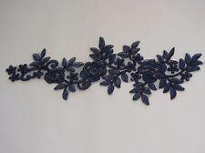 A Large Bridal wedding floral lace applique sewing lace motif . Various colours
