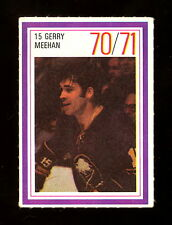 1970-71 ESSO POWER PLAYERS NHL 15 GERRY MEEHAN EX-NM BUFFALO SABRES UNUSED STAMP