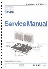 Philips Service Manual für 22 GF 623