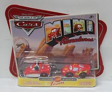 FABULOUS HUDSON HORNET & LIGHTNING MCQUEEN Disney Pixar Cars Mini Adventures NEW