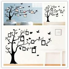 New Black Tree Wall Decal Sticker Family Quote Photo Frame Home Decor Large XW