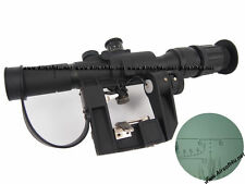SVD SCOPE MOUNT RIFLE AIRSOFT AIR SOFT ASG DRAGUNOV SNIPER 4X26 PSO-1 REPLICA