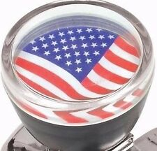 US Flag STEERING WHEEL SPINNER KNOB Hot Rat Rod Suicide nob