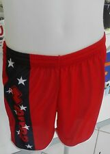 Pantaloncino Shorts ERREA Paise panta uomo rosso USA Taglia S