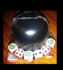 6 x Fish Prawn Crab Sic Bo 2in1 Gambling Set W/dice Bau Cua Ca Cop Tai Xiu 魚蝦蟹大小