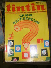 Tintin Hebdomadaire N° 1207 1971 Bernard Prince Cobalt Dan Cooper Luc Orient BD