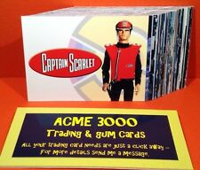 Gerry Anderson Captain Scarlet - Unstoppable Cards - Basic Base Set of 54 Cards