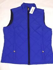 NWT, POLO RALPH LAUREN WOMEN'S QUILTED INSULATED FULL ZIP VEST-XS/S/M/L/XL