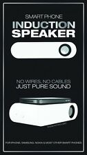 Smart Phone Induction Speaker from Fizz Creations No Wires or Plugs -