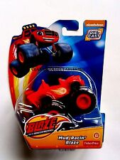 NICKELODEON BLAZE AND THE MONSTER MACHINES DIECAST - MUD RACIN BLAZE - F PRICE