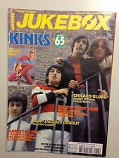 JUKEBOX MAGAZINE N°217 2005 KINKS + POSTER JACQUES DUTRONC