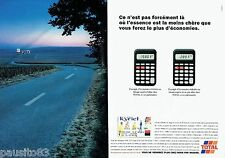PUBLICITE ADVERTISING 116  1997  Carte club Kyriel Total (2p)