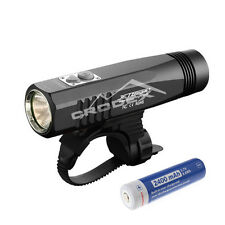 JETBeam BR10GT Black Cree XM-L2 LED Rechargeable Bike Light Flashlight + battery
