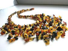 Baltischer Bernstein Halskette Das Herunterhängende - BALTIC AMBER NECKLACE