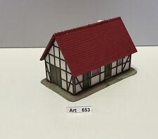 Vau-pe 7165 H0 Bauernhaus, gut geklebt, Maßstab 1:87, selten & RAR, (Art 653)