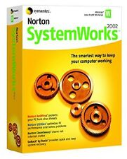 Norton SystemWorks 2002 Utilities Suite CD-ROM Symantec AntiVirus GoBack System