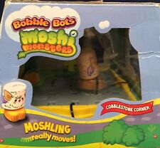 New Rare MOSHI MONSTER BOBBLE BOT COBBLESTONE CORNER SET Really Moves