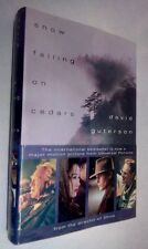 SNOW FALLING ON CEDARS by David Guterson~Stated First Edition~1st Print HCDJ
