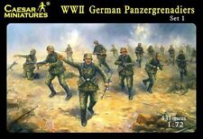 Caesar Miniatures 1/72 WWII German Panzergrenadiers set 1 # 052