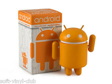 Android mini Collectible Standard Edition Orange from Andrew Bell and Dyzplastic
