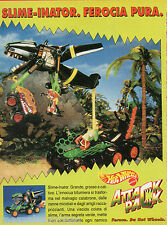 Pubblicità Advertising 1993 MATTEL HOT WHEELS  Attack Pack Slime-Inator