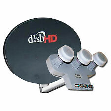 DISH NETWORK HD 1000.2 110 119 129 PORTABLE TRAVEL ROADTRIP MOBILE TRIPOD PAKAGE