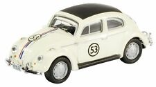SCHUCO 21888 VW BEETLE die cast model rally car HERBIE livery no.53 1:87th scale