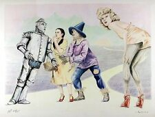 "Robert Anderson - Rare AP Hand Signed Lithograph- ""Wizard of Oz"""